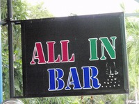 ALL IN BARの写真