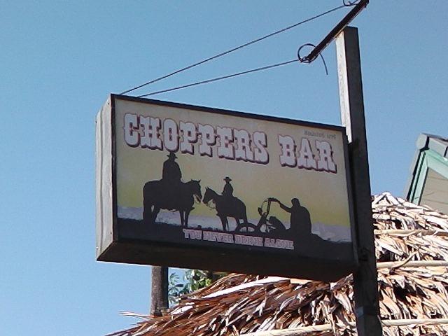 CHOPPERS BAR Image