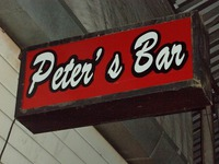 Peter's Barの写真